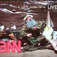 Eminem som Bin Laden i Without Me. Eminem har hatt flere morsomme fortolkninger i sine videoer. Foto: Arkiv