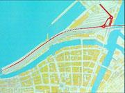 Slik ser skissa over Nordre Avlastningsvei ut. Foto: Arkiv.
