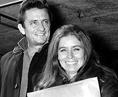 Johnny Cash sammen med kona June i 1968. Foto: Getty Images.