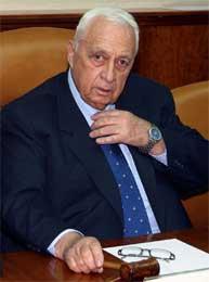 Israels statsminister Ariel Sharon. (Arkivfoto: Reuters/Brian Hendler)