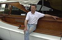 Jan Ivar Johansen synes båtfolket er treige i år. Foto: NRK