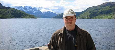 Helge Johnsen – foto Kjell Arvid Stølen © NRK