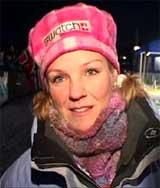 Pernilla Walfridsson er selv en dyktig rallyfører, selv om hun ikke kjører aktivt lenger. Her fra Rally Sverige 2003