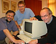 Stephen Hill, Arne Hvidsten og Per Kristensen. Foto: Ragnar Lerfaldet.