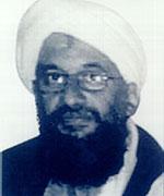 Ayman al-Zawahri kan vere omringa av pakistanske soldatar. (FBI/Getty Images)
