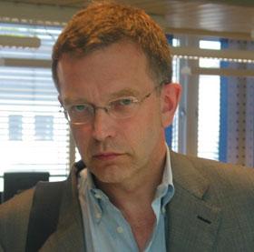 PRIO-direktør Stein Tønneson er svært overrasket over at Norge blir utpekt som terrormål av al Qaida. (Foto: NRK)
