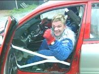 Henning Solberg likte seg i Mitsubishis Lancer WRC