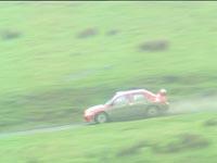 Henning Solberg og Cato Menkerud kjørte bra under vanskelige forhold i Wales.