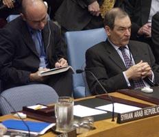 Syria møtte ikke fram til avstemningen om en resolusjon om Irak i Sikkerhetsrådet torsdag. (Foto: SCANPIX)