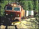 Godstog på Nordlandsbanen