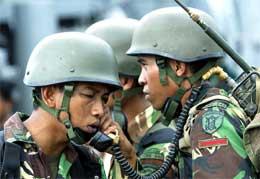 Indonesiske soldater skal regelrett henrette separatister i Aceh (Reuters)