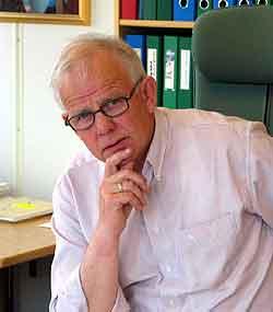 Direktør i Mattilsynet, Eivind Liven, vil ikke kutte i gebyrene. (foto: Agnes Svalastog)