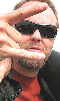 Lars Ulrich og Metallica mener seg misbrukt av det amerikaske forsvaret. Foto: Gitte Johannessen / NTB PLUSS.