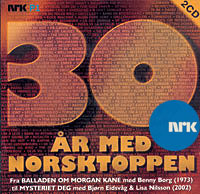Alle årsvinnerne fra Norsktoppen er samlet på jubileums-CD-en 30 år med Norsktoppen.