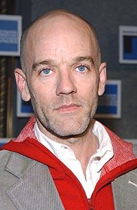 Michael Stipe og R.E.M. dropper gamle hits på turné. Foto: Mark Mainz / Getty Images.
