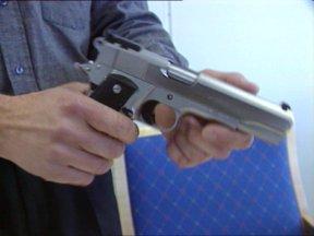 Våpnet som ble benyttet, da Jon Hoel ble skutt.