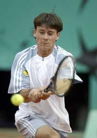 Guillermo Coria slo ut Andre Agassi.(Foto: Clive Brunskill/Getty Images)