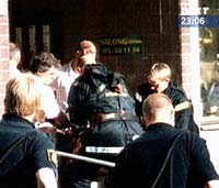 Svensk politi stormet leiligheten til siktede.