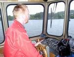 Båtfører Arvid Morvik