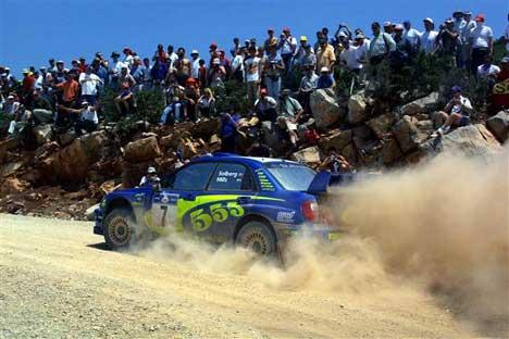 Rally Acropolis er regnet som et av VMs tøffeste. ( Foto: www.swrt.com )