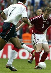 John Carew og Morten Wieghorst. Foto: Scanpix