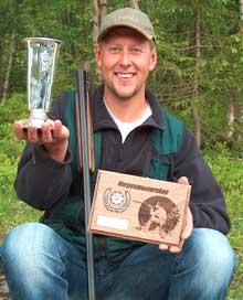 Rolf Harald Østmoe oppnådde også beste poengsum i et slikt norgesmesterskap noensinne.