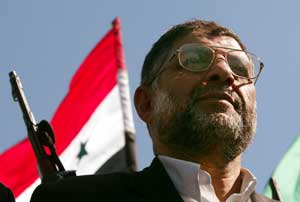 Hamas-leiar Abdel-Aziz Al-Rantissi. (Foto: Ribeiro/Scanpix)