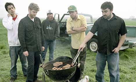 Amerikanske Grandaddy tar seg en grillfest i anledning utgivelsen av deres nyeste album,