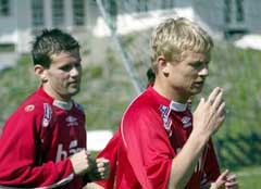 Eirik Bakke og Steffen Iversen ville ligget tynt an hvis Tippeliga-trenerne fikk bestemme. (Foto: Bjørn Sigurdsøn/Scanpix)