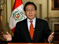Perus president Alejandro Toledo har kalt ut hæren for å finne gislene. (Foto: Reuters)