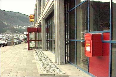 Posten i Sogndal. (Foto: Ragnvald Søgnesand, NRK)