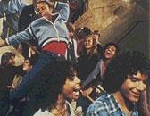 """Leroy, Coco og Bruno i """"Fame"""""""