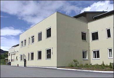 Helsesenteret i Dalavegen i Sogndal. (Foto: Asle Veien, NRK)