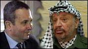 Ehud Barak (t.v.) og Yasir Arafat reiser begge til USA for å møte Bill Clinton.