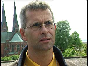 Fungerende prost i Skien, Håkon Nordbø. (Foto:Geir Åge Jensen)