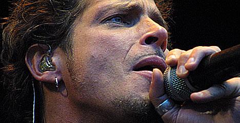 Chris Cornell viste publikum i Frognerbadet at Audioslave har kommet for å bli. Foto: Arne Kristian Gansmo, nrk.no/musikk.