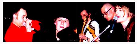 The Love Revolt består av Sven-Arne, Tore, Magnus, Dagfinn og Martin