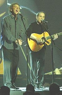 Simon and Garfunkel skal kanskje turnére. Foto: Frank Micelotta / Getty Images.