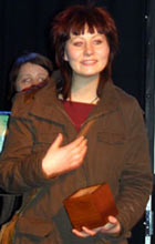 Sissy Wish vant Urørt på Bylarm 03 [Foto: Amund Simensen, NRK Upunkt]