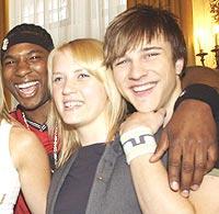 Rebecca Ludvigsen og noen av vennene fra Idol. Foto: Cornelius Poppe /SCANPIX.