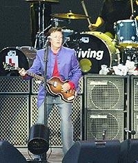 Paul McCartney får ikke spille på Glastonbury. Foto: Michael Steele / Getty Images.