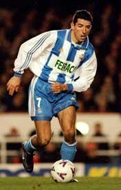 Real-spillerne husker Makaay fra tiden hans i Deportivo la Coruna.