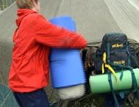 Aksjonistene er tilbake i Regionfelt Østlandet, etter at aksjonen ble avblåst i forrige uke.