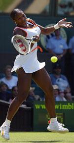 Serena Williams viste styrke mot Jill Creybas (Foto: Getty)