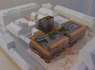 Slik vil arkitektene at branntomta skal se ut etter gjenoppbygingen.