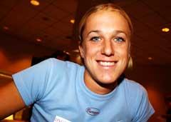 Den svenske høydehopperen Kajsa Bergqvist tror hun kan sette verdensrekord i løpet av sesongen. (Foto: Cornelius Poppe / SCANPIX)