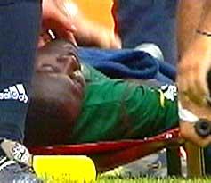 Det tragiske dødsfallet til Marc-Vivien Foe i sommer kom som et sjokk på trenere og lagkamerater.