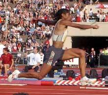 Yamile Aldama har årsbeste i verden, men kommer ikke til VM. (Foto: Cornelius Poppe / Scanpix)