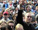 Publikum hygger seg på fjorårets Quart Festival