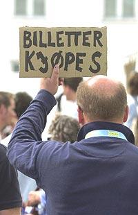 - Det vil alltid foregå svartebørs, sier Toffen Gunnufsen. Foto: Heiko Junge / SCANPIX.